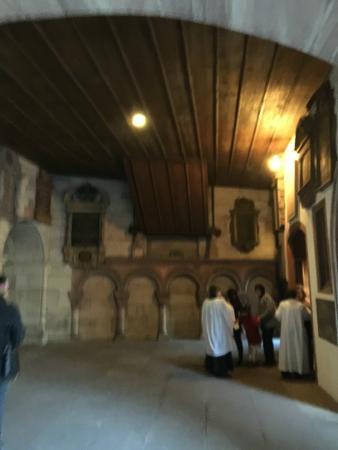 Basel Minster: In the cloister