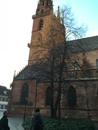 Basel Minster: Side view