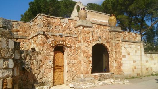 Cellino San Marco, Italie : L'ingresso del centro benessere