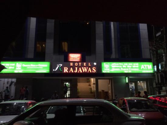 Hotel Rajawas: Entrance
