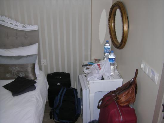 Divani Ali Hotel: Sehr schön, aber eben eng