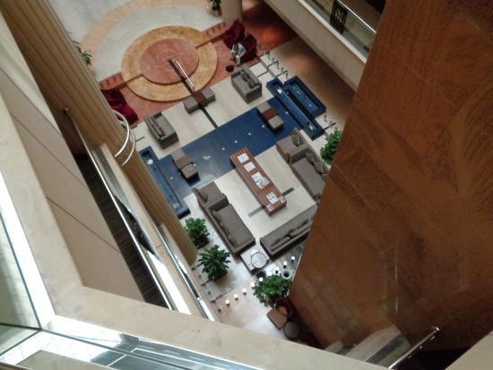 Belvedere Court Hotel Apartments: Vue sur le hamm