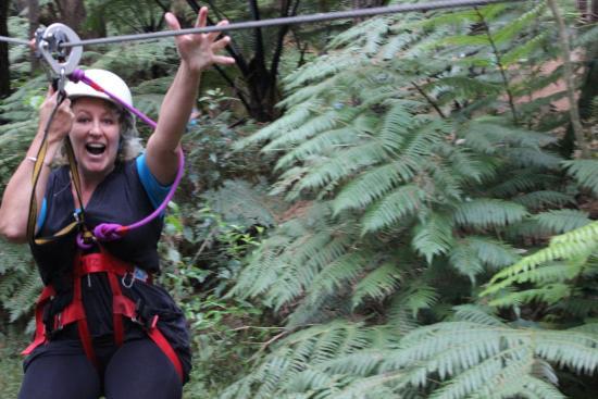 Whangarei, Nueva Zelanda: Even mum can do it.
