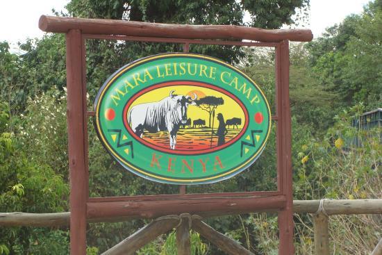 Mara Leisure Camp: entrada