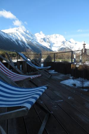 Familien-Landhotel Stern : Blick von der Dachterrasse