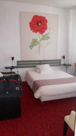 Hotel Maine: La chambre coquelicot