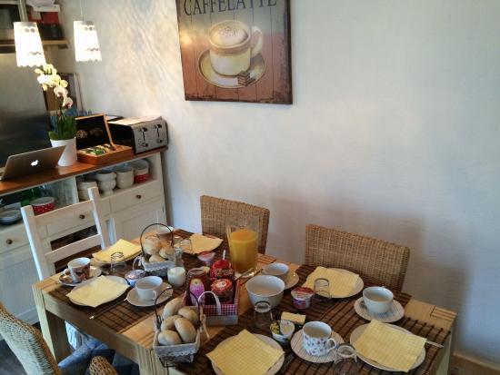 Gaestehaus Hochmann : Frühstück