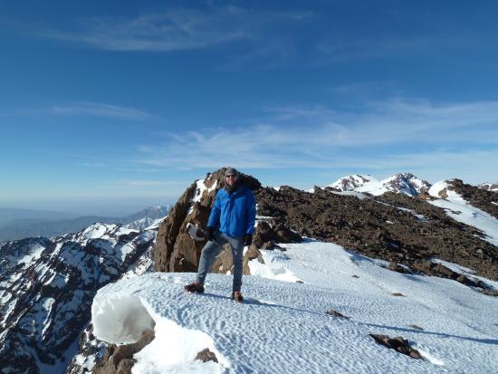 Mount Toubkal : On the edge