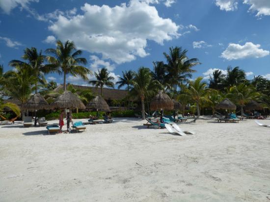 Amaité Hotel & Spa: Strandområde