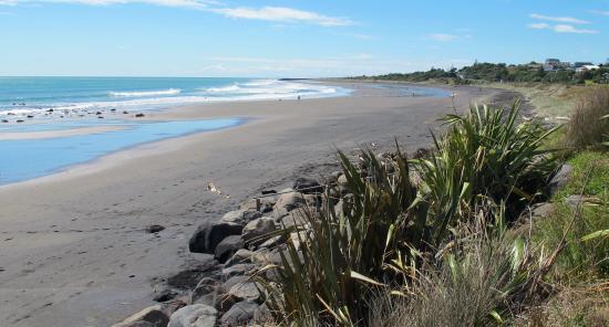 New Plymouth, Nueva Zelanda: A beach on the Coastal Walkway