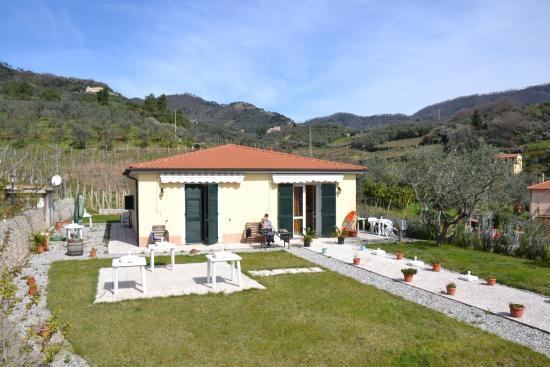 La Collina Verde: Blick auf die Terrasse mit Hinterland