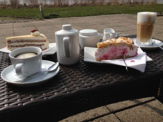 Seehotel Schwanenhof: Kaffe