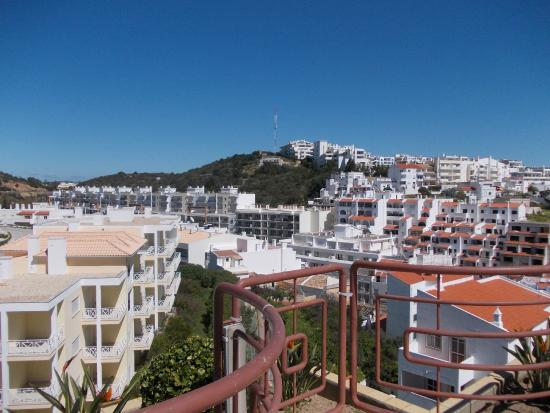 Colina do Mar Hotel: view from the roof pool