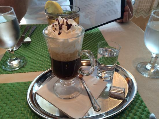 Alpine Restaurant: Vienna coffee