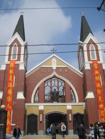 ‪Dalian Catholic church‬