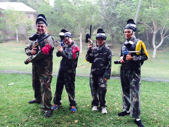 Bali Paintball Arena: Ready for war