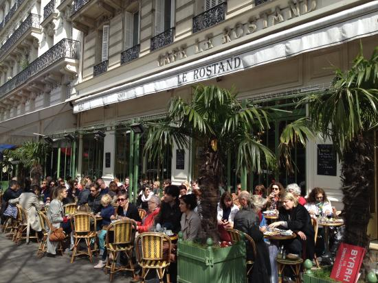 Picture of le rostand paris tripadvisor for Cafe du jardin london