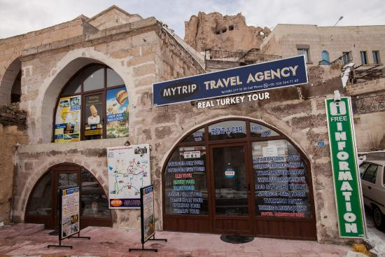 Uchisar, Turkey: MYTRİP TRAVEL AGENCY