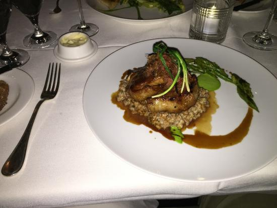 The Bernards Inn Restaurant: Lamb Prime Rib