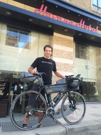 Havana Hotel was proud to welcome Mark Beaumont for the start of his world record breaking cycli