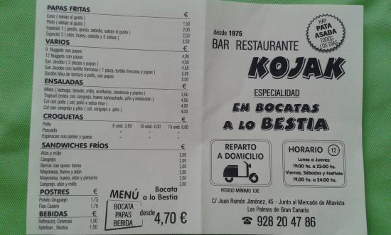 Bar Restaurante KOJAK