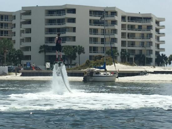 Power Up Watersports: 17yr old having a BLAST Fly Boarding