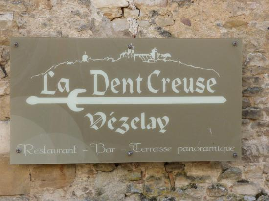 Restaurant la Dent Creuse Vezelay