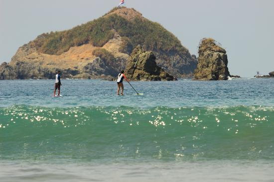Blue Horizon Surf and Trips: Thank you James for teaching us to paddle board