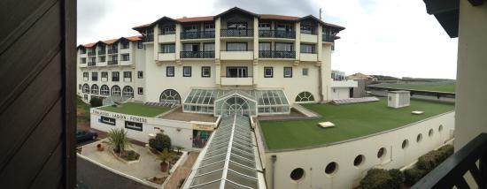 Les Terrasses d'Atlanthal : Vue balcon 2 iem étage
