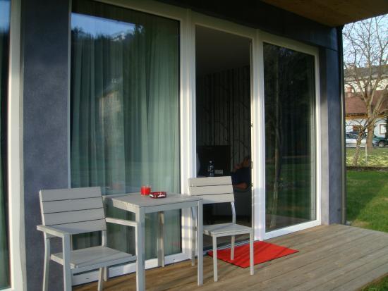Wallner: terrasse vorm zimmer