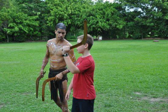 Caravonica, Australia: Tjapukai Aboriginal Cultural Park
