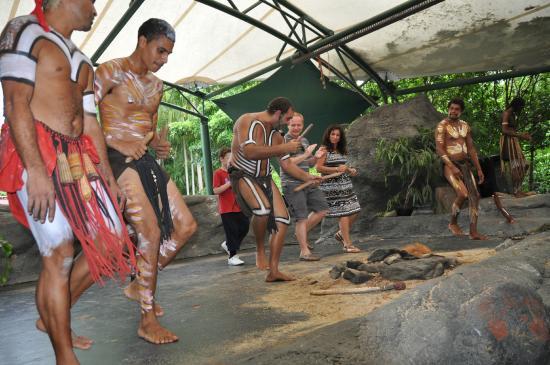 Caravonica, אוסטרליה: Tjapukai Aboriginal Cultural Park