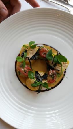 Barwick, UK: crab cannelloni