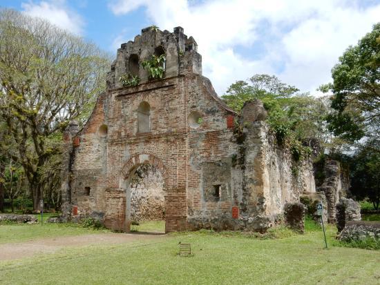 Ruinas de Ujarras: Les ruines de l'Eglise