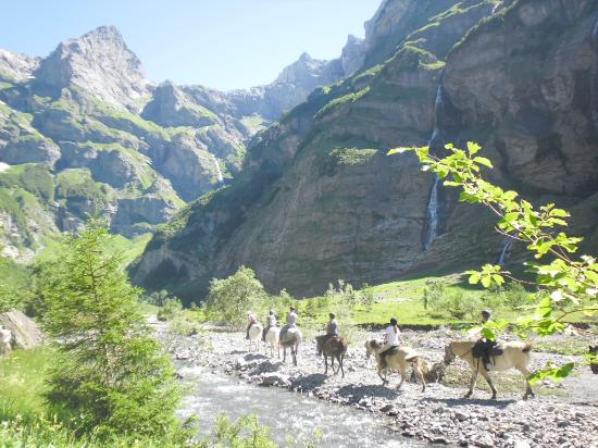 Sixt-Fer-a-Cheval, France: .