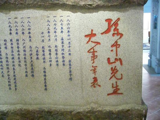 Sun Yat Sen's Residence Memorial Museum: Brief summary of Dr.Sun's life