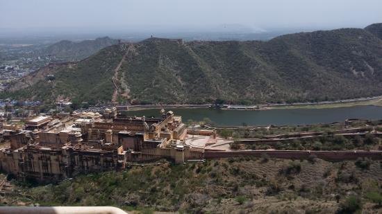 Jaigarh Fort: Die Aussicht auf Amber Fort