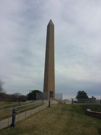 Sergeant Floyd Monument: The monument