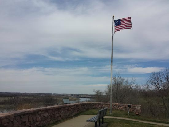 Sergeant Floyd Monument: the view