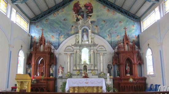 Zaruma, เอกวาดอร์: Santuario de la Virgen de los Remedios