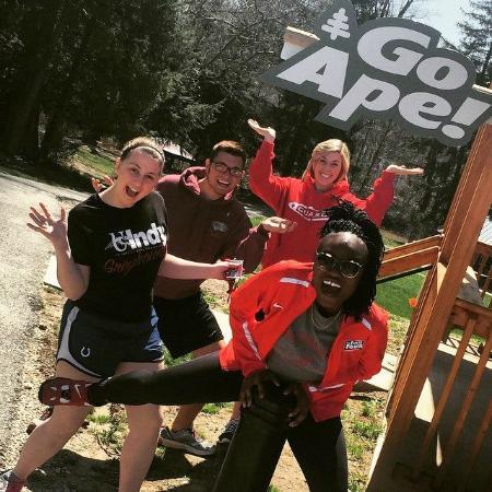 Go Ape Treetop Adventure Course: Fun Day