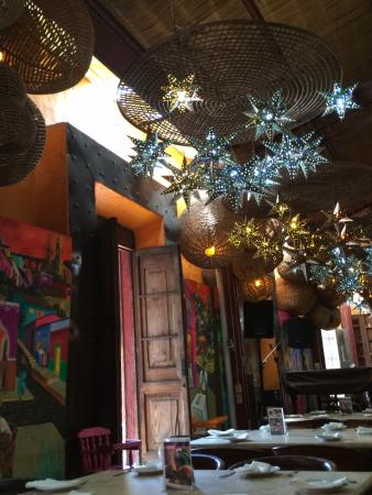 Adobe Fonda: Combination of fine mexican art , great food and service