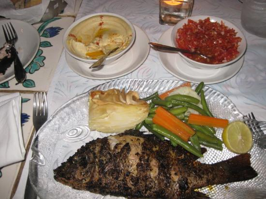 Presa di Goa Country House : Dinner: Red Snapper