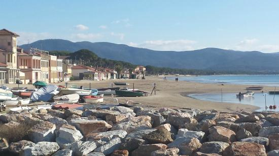 Hotel Ausonia: spiaggia di levante