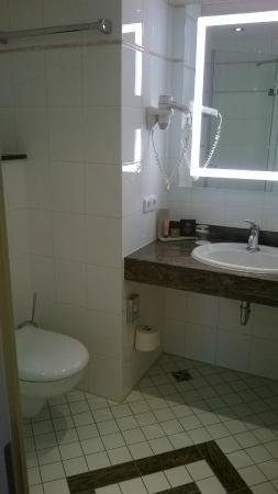 Land & Golf Hotel Stromberg: The bathroom