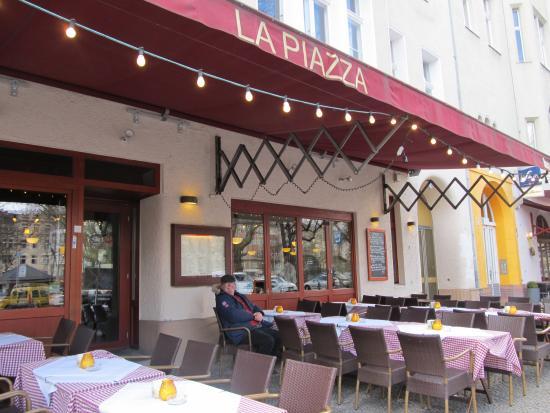 La Piazza Pa Savigny Platz Picture Of La Piazza Berlin