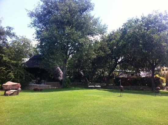 Hornbill Lodge: Aussenansicht