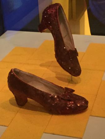 Smithsonian American Art Museum: Dorothy's Ruby Slippers Worn by Judy Garland