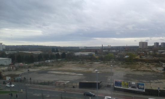 Holiday Inn Express Leeds City Centre: View from the window - Elland Road