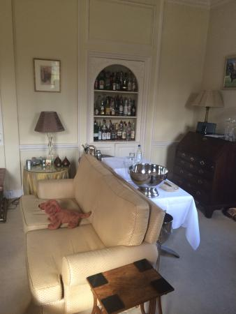 The drinks cabinet
